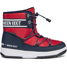 Moon Boot Mid WP 2 Stiefel Jungen blue/red